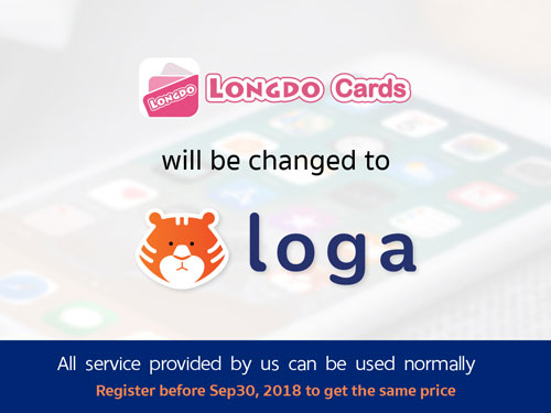 Longdo Cards is now Loga.